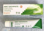 アルジタルグリーンクレイ歯みがきミント